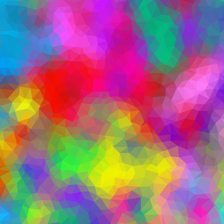 Crazy abstract polygonal shapes create insane wallpaper