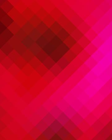 reddish: Crazy abstract tetragonal shapes create insane wallpaper