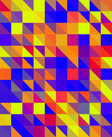 recreational drug: Crazy colorful background made by many triangles
