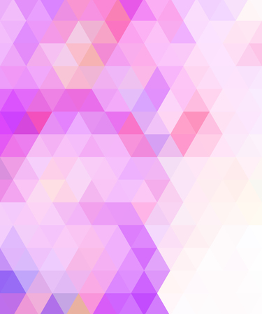 Crazy colorful background made by many triangles