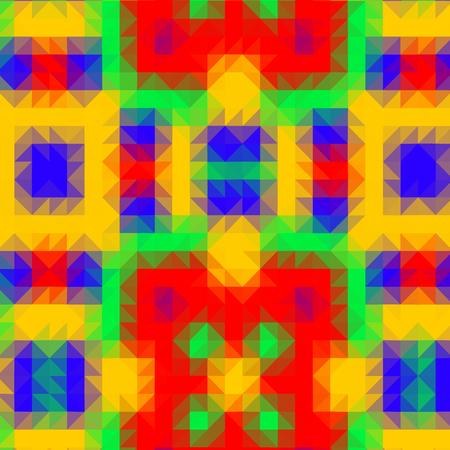 reddish: Crazy abstract triangular shapes create insane wallpaper