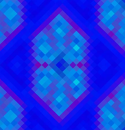 Crazy abstract tetragonal shapes create insane wallpaper