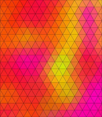 insane: Crazy abstract triangular shapes create insane wallpaper