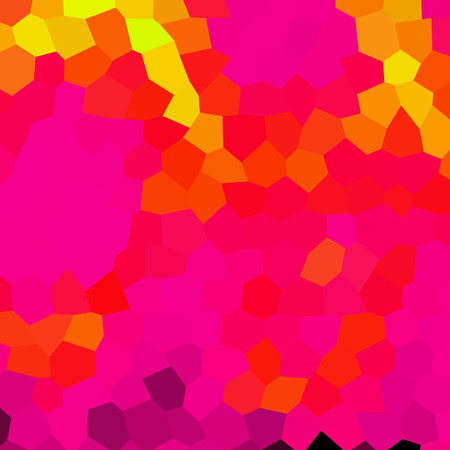 psychodelic: Crazy abstract hexagonal shapes create insane wallpaper Illustration