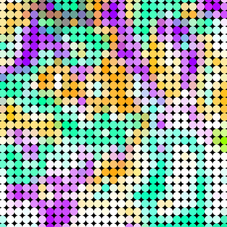 recreational drug: Crazy abstract circles create insane cute wallpaper