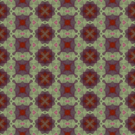 hallucinatory: Crazy psychedelic motif as polygonal seamless pattern