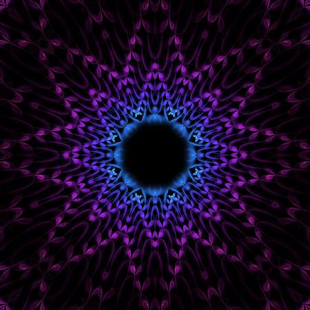 phantasy: Nice abstract flourish fractal with crazy petals