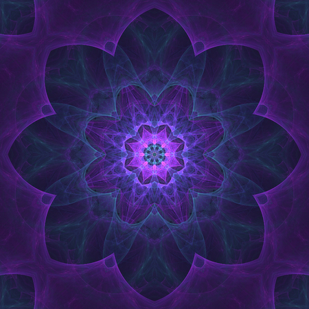 lsd: Abstract crazy fractal composition with floral theme Stock Photo