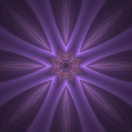 poquito: malva loca formas borrosas un poco de bits caleidoscópicos con efecto de brillo Foto de archivo