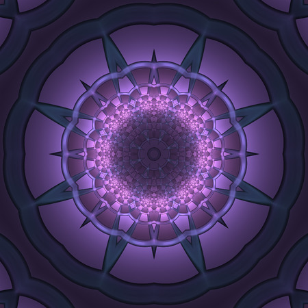 Abstract mauve design in fractal art style