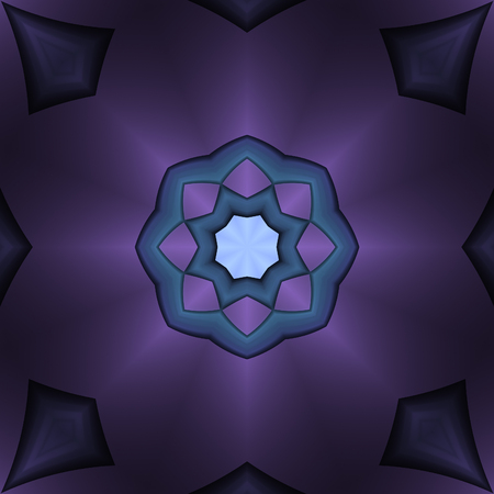 Cute abstract design in fractal art style