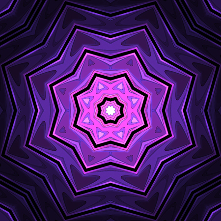 Abstract crazy violet design in fractal art style