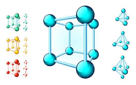 tetrahedron: Molecular cube
