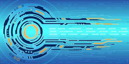 hitech: Hi-tech background