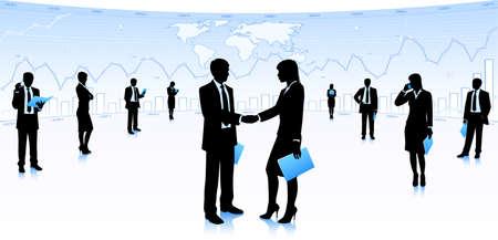 partnership: Handshake