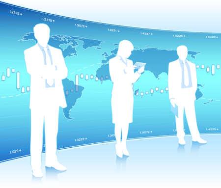 hombres de negocios: Los hombres de negocios