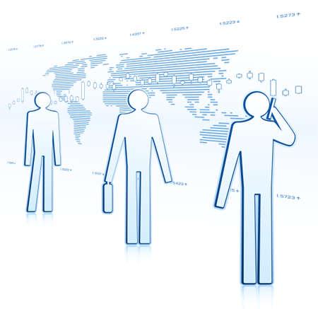businessmen Ilustração