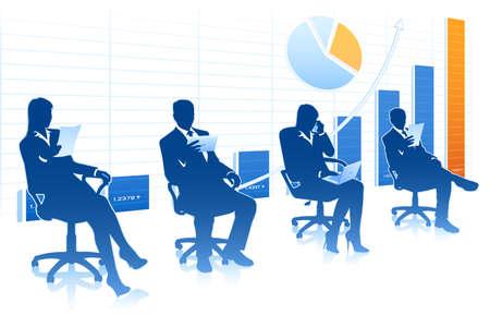 business command Ilustração