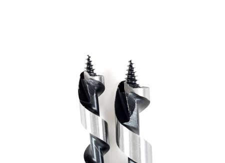 augers:  drill bits with augers