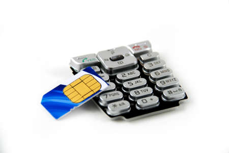 keypad and sim card found on cell phones