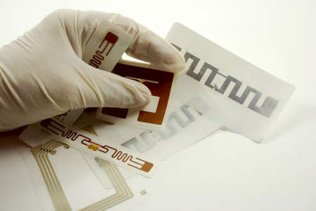 transponder: stock pictures of rfid tags used for tracking and identification purposes