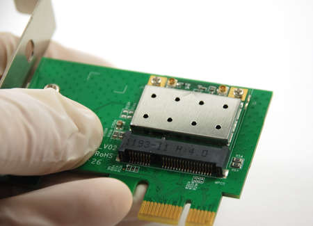 microelectronics: stock pictures of electronic systems deivices and components  Stock Photo