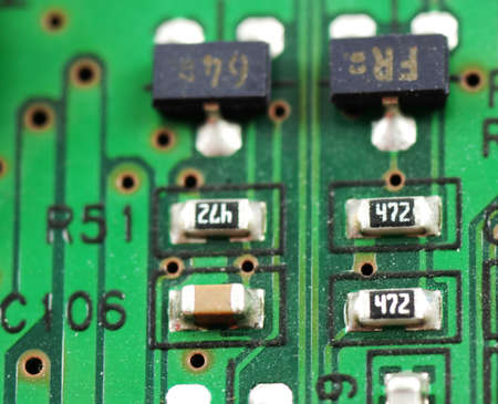solid state: stock pictures of electronic systems deivices and components  Stock Photo