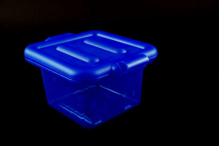 storage bin: pictures of blue plastic clear containers for storage
