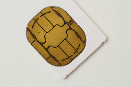 pictures of SIM cards used in cell phones Stock fotó