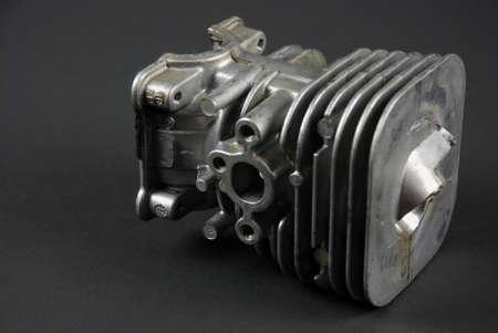 소형 가스 엔진과 기화기의 재고 사진 스톡 콘텐츠