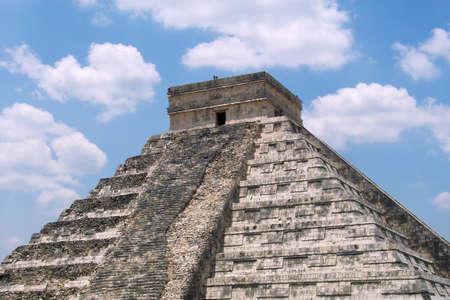 Chichen Itza pyramid, Yucatan, Mexico Stok Fotoğraf