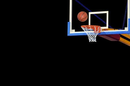 Basketball ball and board (room to write)