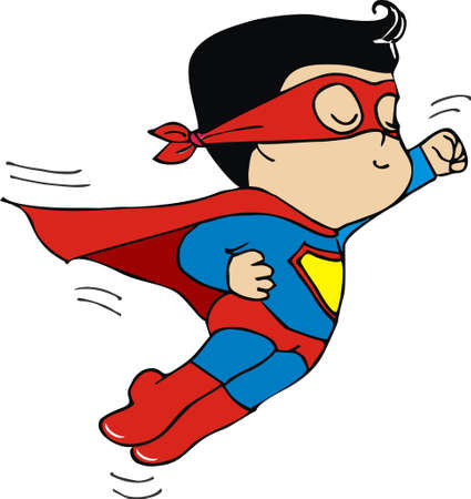 baby superman Vector