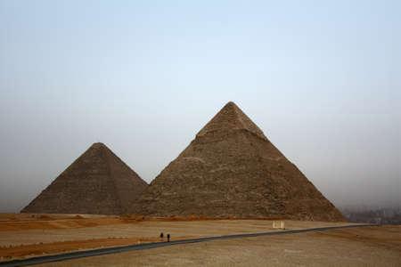 famous egyptian pyramids in Giza photo