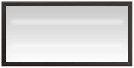 lightbox: A regular white flourescent lit light box with a black frame on an isolated background