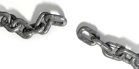 分離のサイクルを破るミッシング リンクと摩耗金属