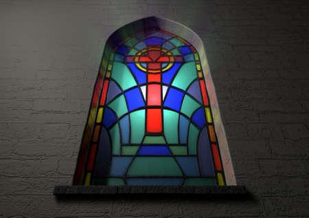 Atemberaubend Glasfenster Vorlage Zeitgenössisch ...