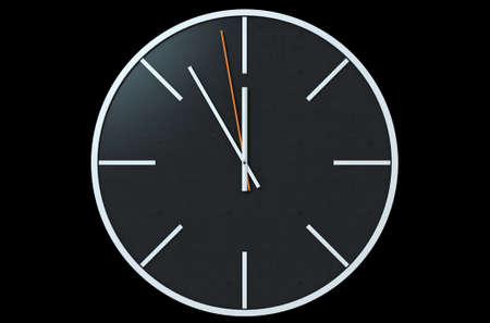 simplistic: An extreme close up of a modern simplistic watch face on an isolated studio background
