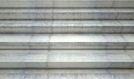 concrete steps: A section of empty concrete steps used for stadium seating