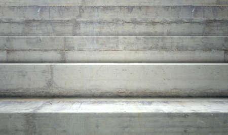 concrete stairs: A section of empty concrete steps used for stadium seating