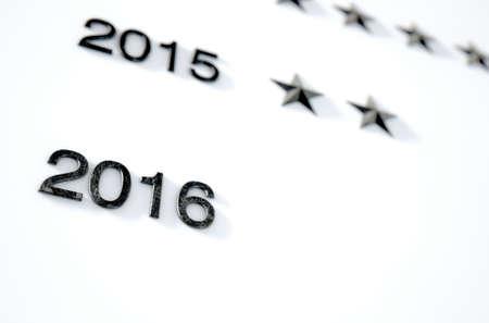 cronologia: Una representaci�n 3D de un primer plano de una placa de honor que muestra las estrellas para representar logros an�nimas por parte de personas no identificadas a trav�s de los a�os Foto de archivo