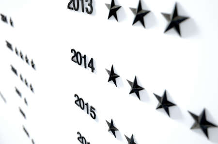 notability: A 3D render of a closeup of an honorary board that displays stars to represent anonymous achievements by unidentified individuals  through the years