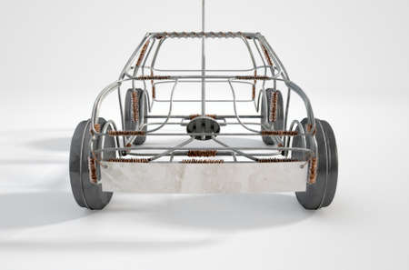 Wire Frame Car Stock Photos. Royalty Free Wire Frame Car Images