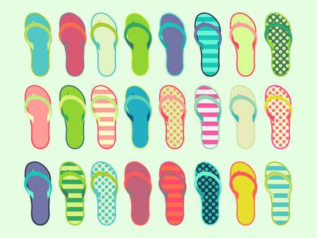 24 Sandals Flip Flops