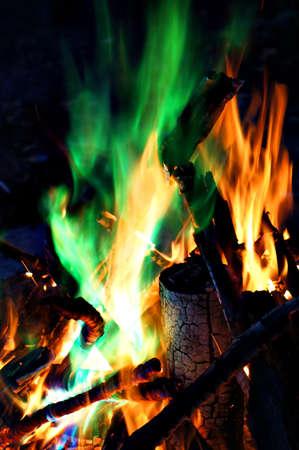 Coloured Campfire