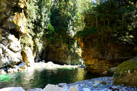 River at Othello Tunnels in Hope, BC