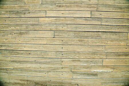 Ancienne clôture en bois peint. Texture de fond