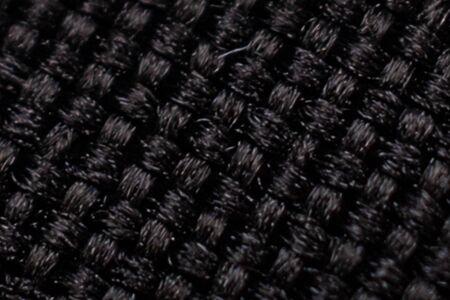 Black cloth. Background textile texture Banque d'images