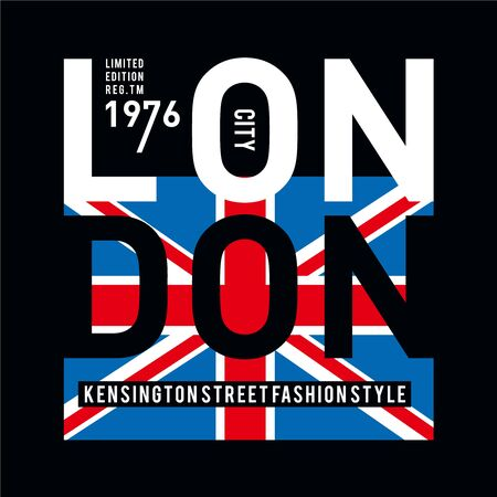 London typography design tee t shirt graphic printed,design - t -printing-embroidery-apparel