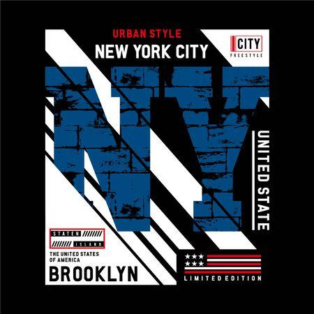 Design vector typography varsity collection united states for t shirt print men Illusztráció
